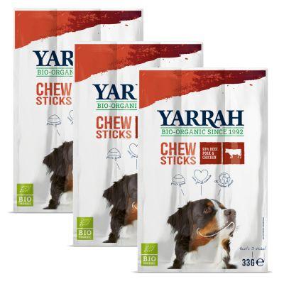Yarrah palitos ecológicos para perros - 3 x 3 unidades