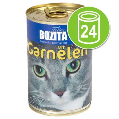 Bozita - Bozita Kattenvoer Voordeelpakket 24 x 410 g - Rund