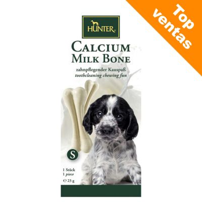 HUNTER hueso de leche (con calcio) para perros - 54 g (1 unidad)