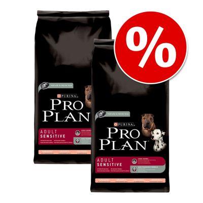 Ekonomipack: 2 x stora påsar Pro Plan till extrapris! – Adult Light Original – Chicken with Rice (2 x 14 kg)