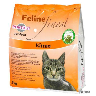 Porta 21 Feline Finest Kitten - säästöpakkaus: 2 x 2 kg