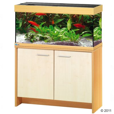 MP Scubaline 180 Aquarium - harmaa/vasaralakattu + Eheim MP -tekniikkapaketti