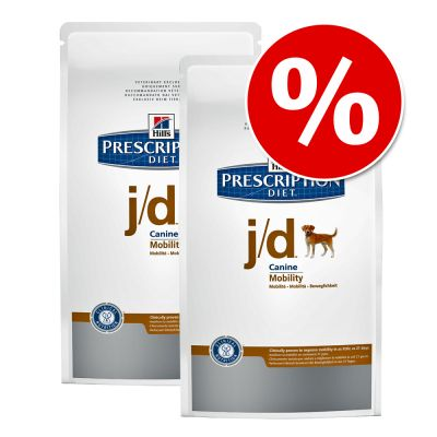 Ekonomipack: 2 x 10 / 12 kg Hill's Prescription Diet Canine – Prescription Diet Canine – z/d Ultra Allergen Free (2 x 10 kg)