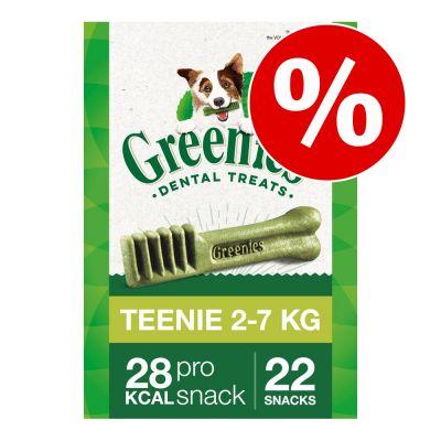 Greenies snacks dentales para perros 170 g / 340 g - Pack Ahorro - Medium 3 x 340 g (36 uds.)