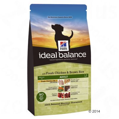 hill-canine-ideal-balance-adult-kylling-ris-2-x-12-kg