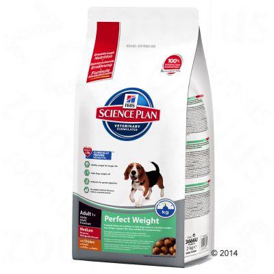 hill-canine-adult-perfect-weight-medium-okonomipakke-2-x-10-kg