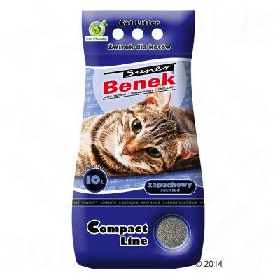 Super Benek Compact Zapachowy, hajustettu - 25 l (noin 20 kg)