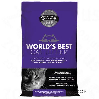 world-best-kattenbakzand-lavendelgeur-127-kg