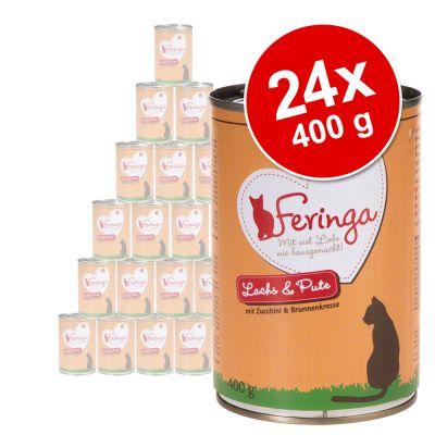 Feringa Classic Meat Menu -säästöpakkaus 24 x 400 g - monta makua