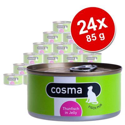 Ekonomipack: Cosma Original i gelé 24 x 85 g – Kyckling