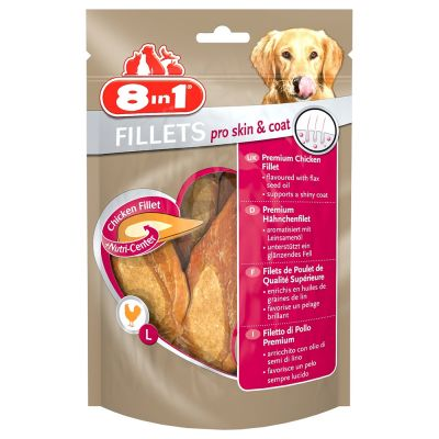 8in1 Fillets Pro Skin & Coat 80 g - S-koko