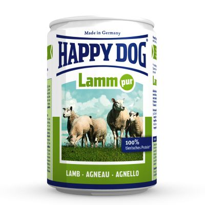 Happy Dog Pur 6 x 400 g – Buffel
