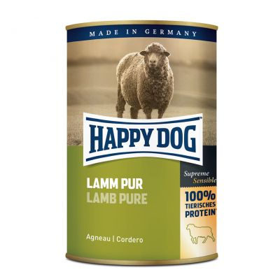 Happy Dog Pur 6 x 400 g - kalkkuna