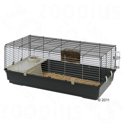 Ferplast Rabbit 120 smådjursbur – B 118 x D 58,5 x H 51,5 cm