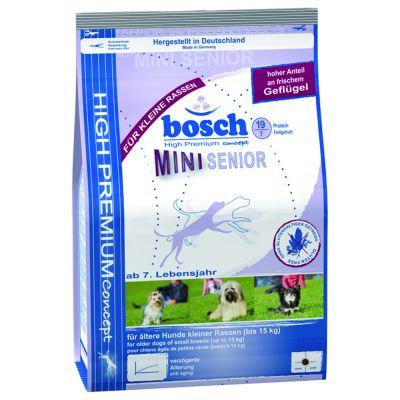 Bosch Adult Mini Senior – Ekonomipack: 3 x 2,5 kg