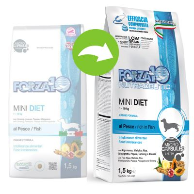 Forza 10 Mini Diet with Fish - 2 x 1,5 kg
