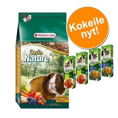 Cavia Nature + Versele-Laga Nature Sticks erikoishintaan! - 10 kg