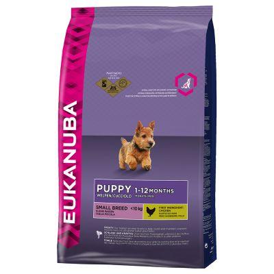 Eukanuba Puppy Small Breed Chicken – 3 kg