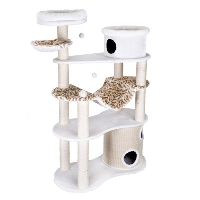 White Tiger Xxl Cat Tree - White (2 Packages)