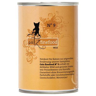 Catz Finefood -purkkiruoka 6 x 400 g - silakka & rapu