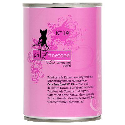 Catz Finefood w puszce, 6 x 400 g - Cielęcina