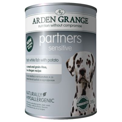 Sensitive Fish & Potato Arden Grange Partners Wet Dog Food