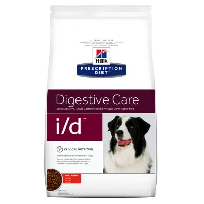 Hill's Prescription Diet Canine i/d Digestive Care - kana - lisänä: 12 x 360 g i/d Digestive Care kalkkuna