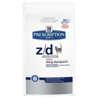 Hill's Prescription Diet Feline z/d Low Allergen – Ekonomipack: 3 x 2 kg