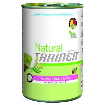 Korzystny pakiet Trainer Natural Maxi, 12 x 400 g - Adult, Wołowina, ryż i żeń-szeń