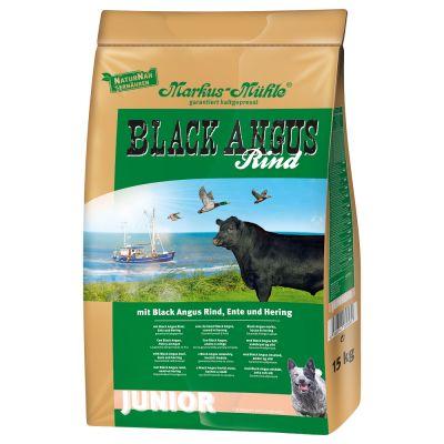 Markus-Mühle Black Angus Junior - 14 + 1 kg ¡gratis!
