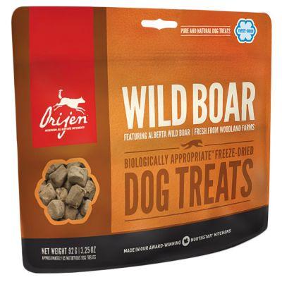Orijen Snack Wild Boar - säästöpakkaus: 3 x 92 g