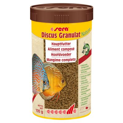 sera Discus Granulat Nature - 2 x 250 ml