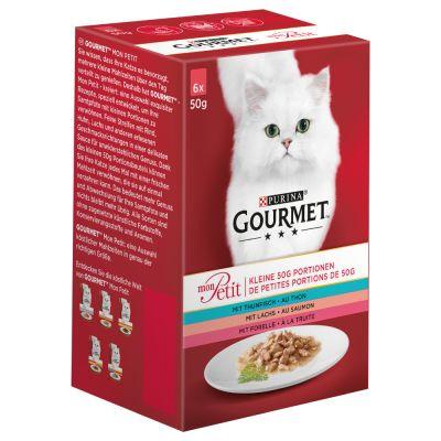 Gourmet Mon Petit 6 / 12 x 50 g - Duetti Fleisch (6 x 50 g)