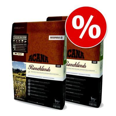 Acana-säästöpakkaus: 2 x 5,4 kg - Grasslands