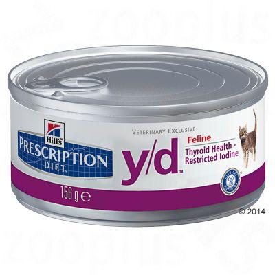 hill-s-prescription-diet-feline-yd-kattenvoer-6-x-156-g