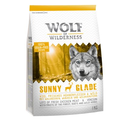 Wolf of Wilderness Adult Sunny Glade jelen 1 kg