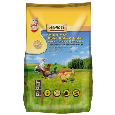 MAC's Cat Adult Duck, Turkey & Chicken - 1,5 kg