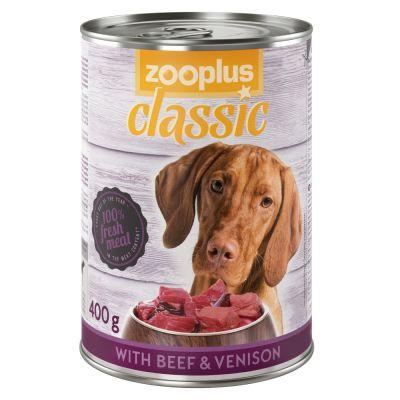 zooplus Classic zvěřina a hovězí 6 x 400 g