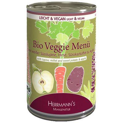 Herrmann's Organic Veggie Menu - 6 x 400 g