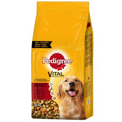 Pedigree Adult met Rund & Groenten Hondenvoer - 3 kg