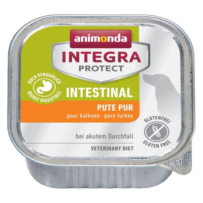 Animonda Integra Protect Intestinal -rasiat - 6 x 150 g kalkkuna