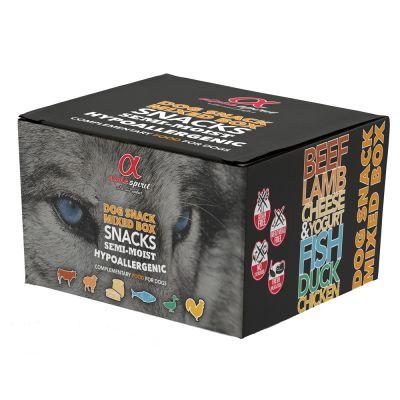 Alpha Spirit Dog Snacks Mixbox - 9 x 35 g
