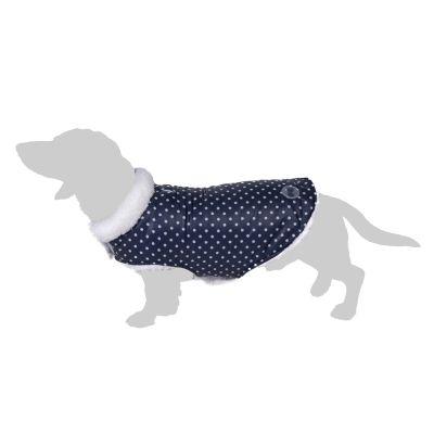 Cozy Polkadots -koirantakki - selän pituus noin 45 cm (XXL-koko)
