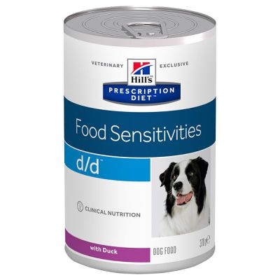 Hill's Prescription Diet d/d Food Sensitivities Hundefutter mit Ente