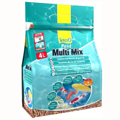TetraPond Multi Mix dammfiskfoder – 4000 ml
