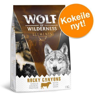 1 kg Wolf of Wilderness Elements kokeiluhintaan! - Rough Storms - ankka