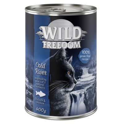 Wild Freedom Adult 6 x 400 g - Cold River - seiti & kana