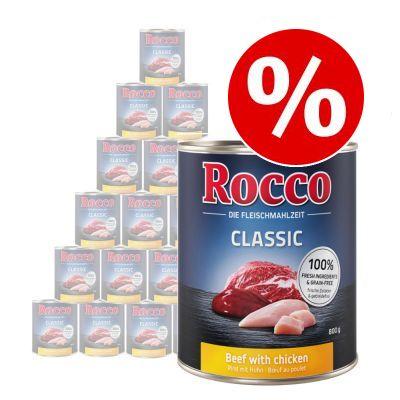Sparpris! Rocco Classic 24 x 800 g - Nötkött & vildsvin