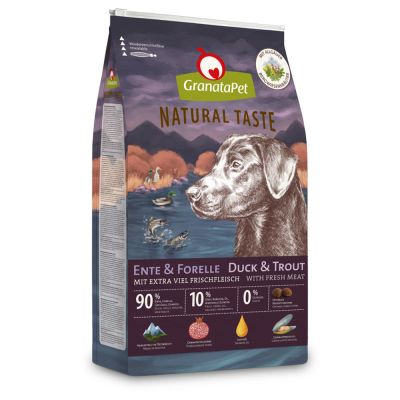 GranataPet Natural Taste Duck Trout - 12 kg