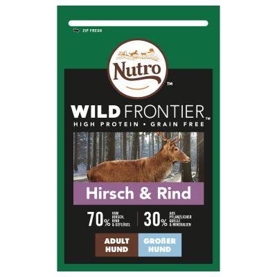 Nutro Wild Frontier Adult Large hirvi ja nauta – 12 kg